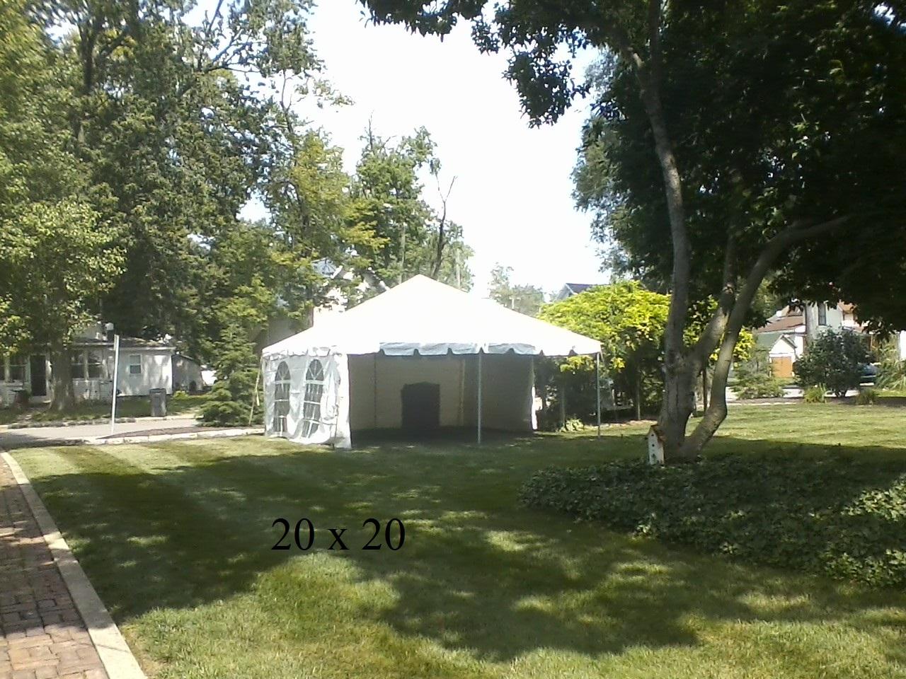 Tent Rental Rates   New Paris Tent Rentals