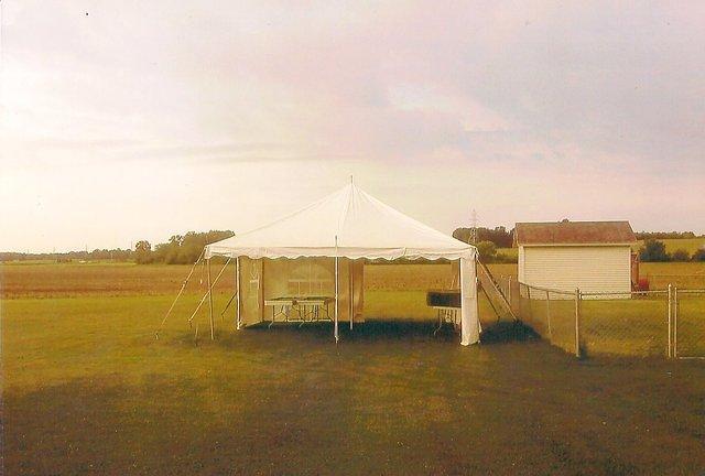 20X20 Tent new paris tent rentals