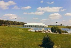 40x100 Tent Decorative Sidewalls
