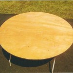 Round Tables for rent New Paris Tent Rentals