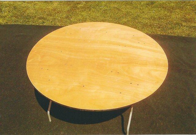 Round Tables for rent New Paris Tent Rentals