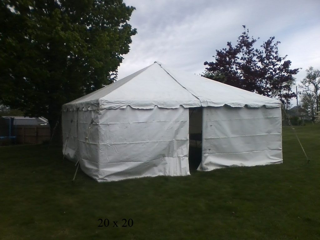 20x20 tent for rent
