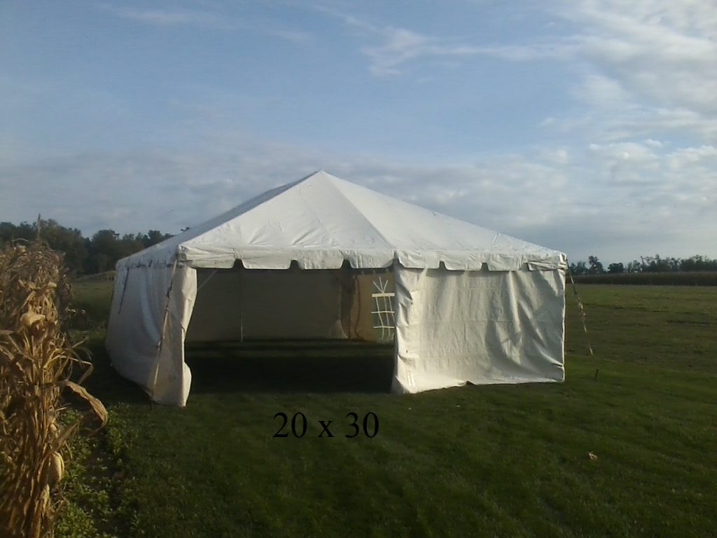 20x30 tent available to rent