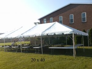 20x40 tent for rent