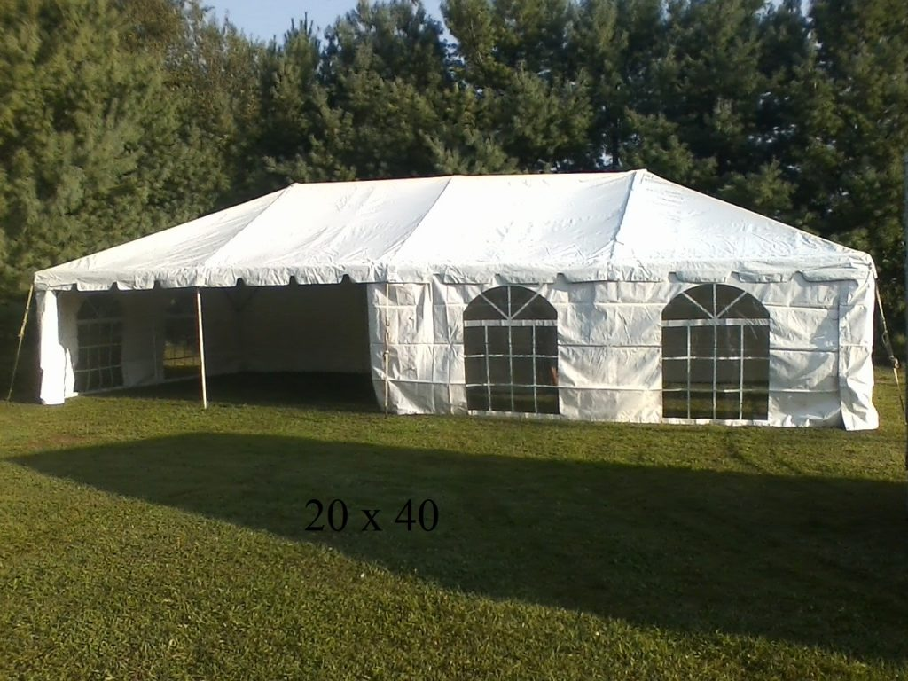 20x40 tents for rent