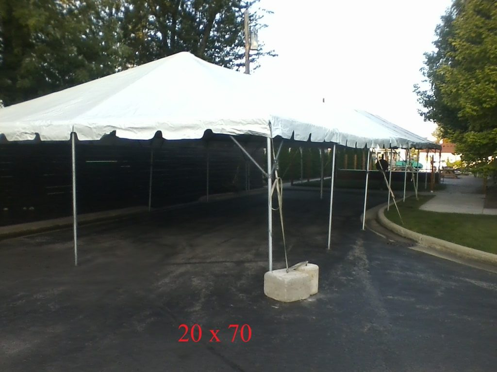 20x70 tent for rent indiana