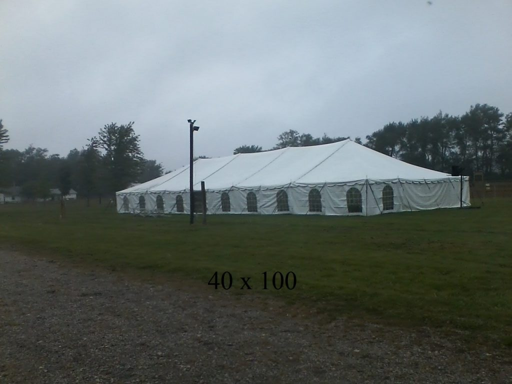 40x100 event tents for rent