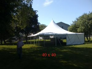 40x40 tent for rent indiana