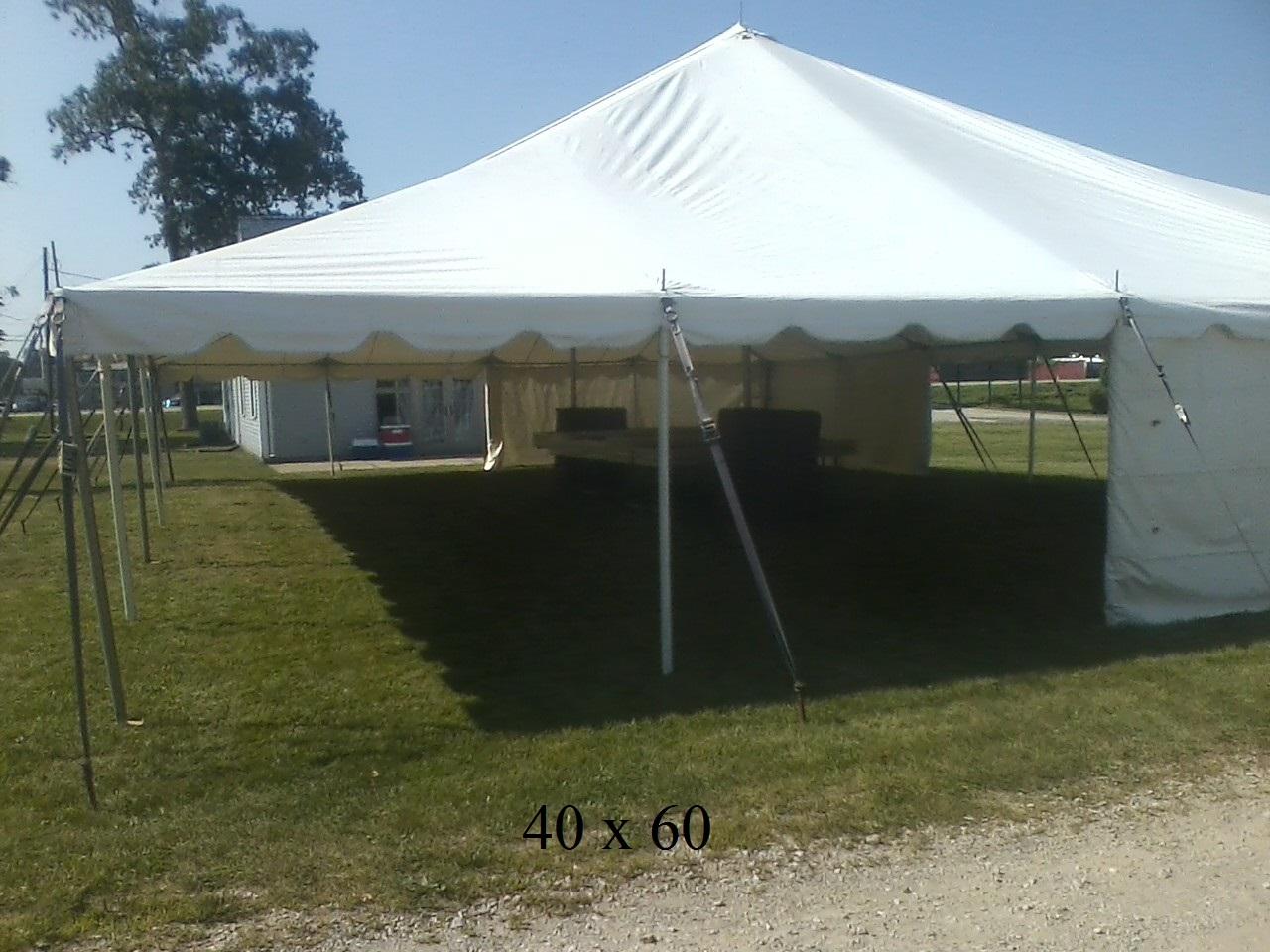 New Paris Tent Rentals & 40×60 event tents available elkhart kosciusko county ind | New Paris ...