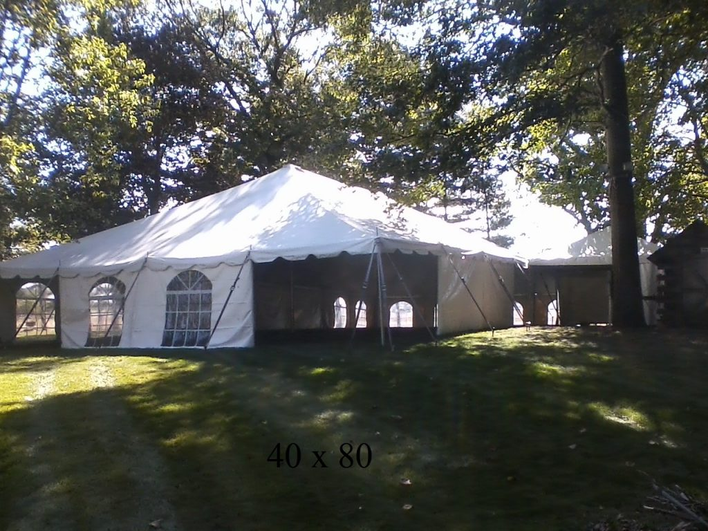 40x80 tent for rental