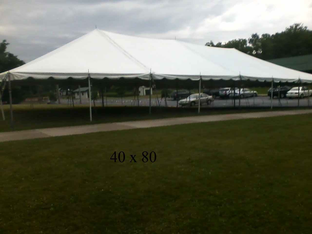 40 215 80 Tent Rental For Events Elkart County Indiana New