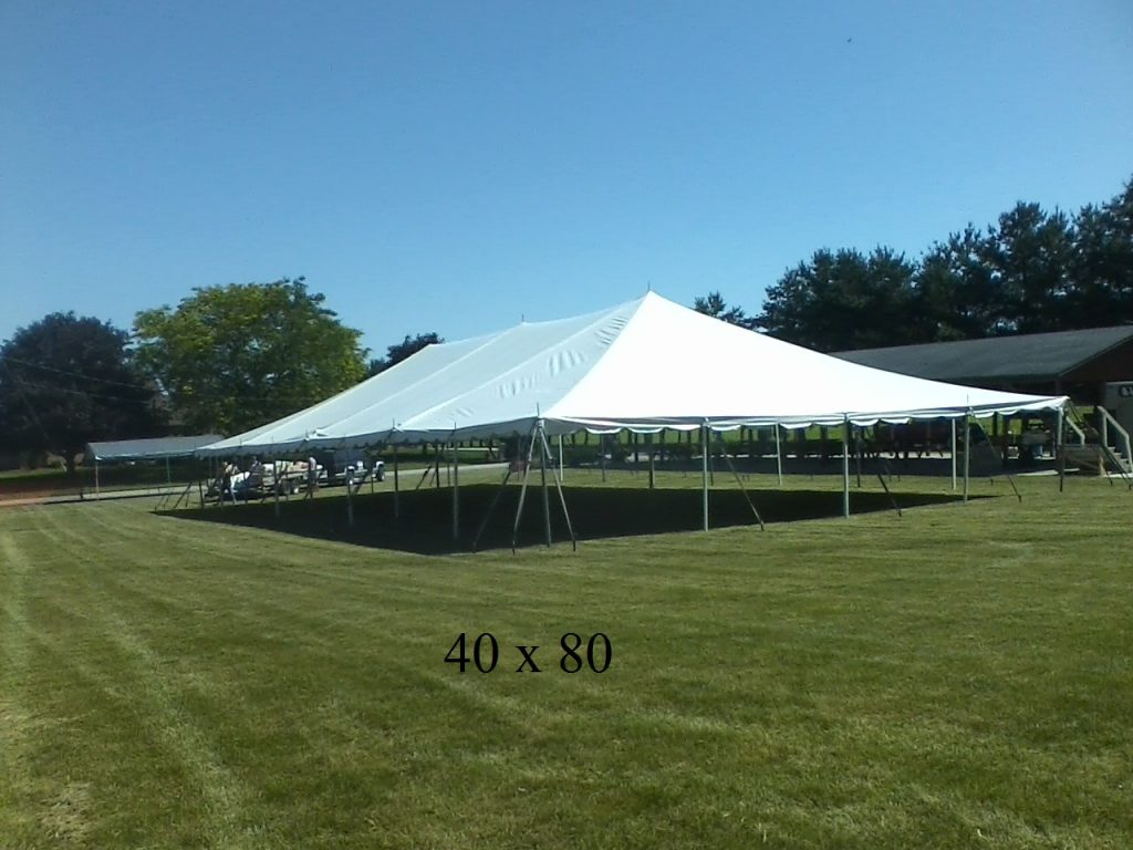 40x80 tent rental northern indiana