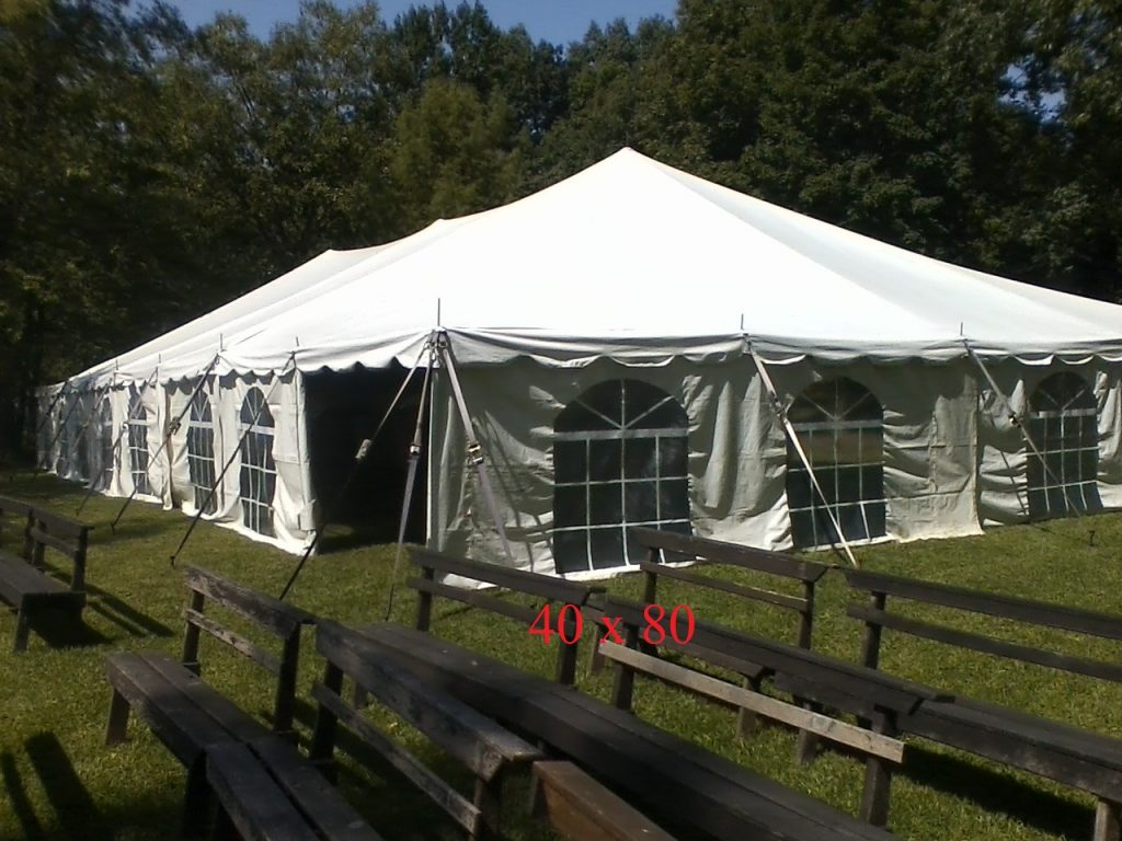 40x80 wedding tents for rent