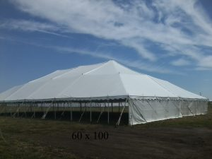 60x100 tent for rent
