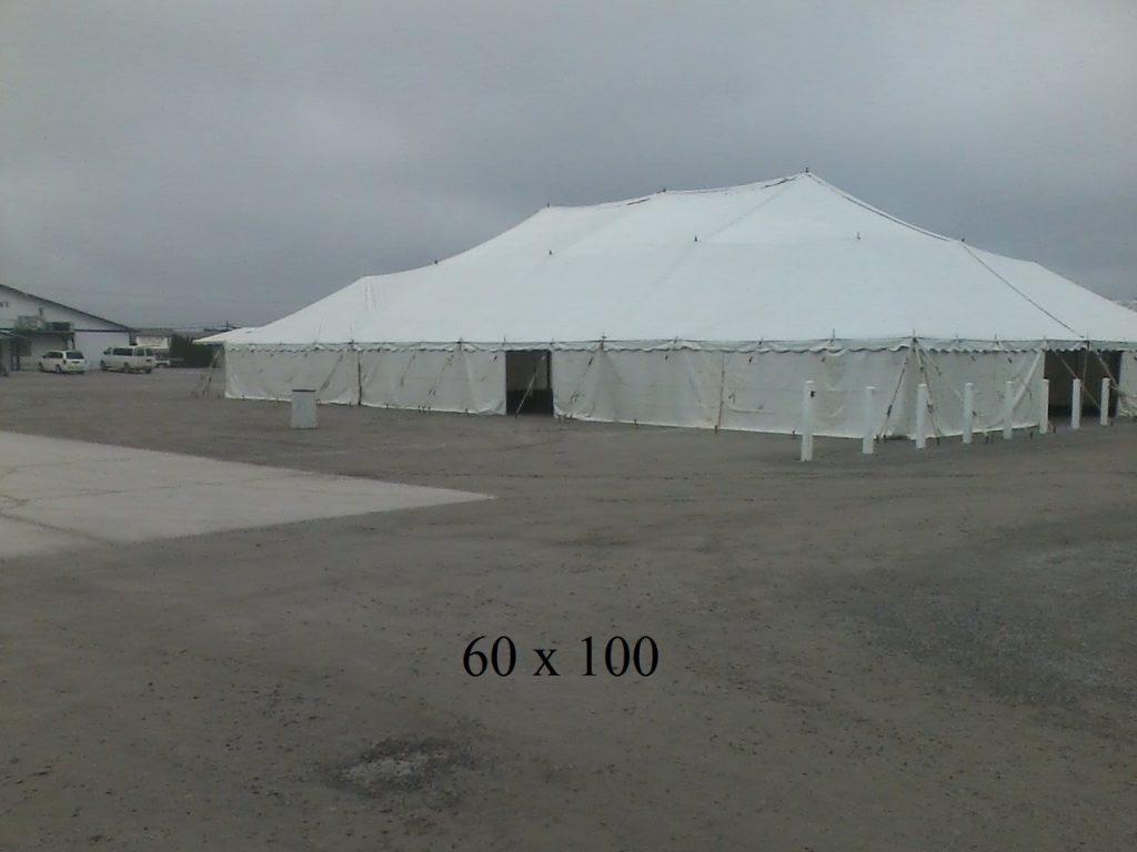 60x100 tent rentals in Elkhart county