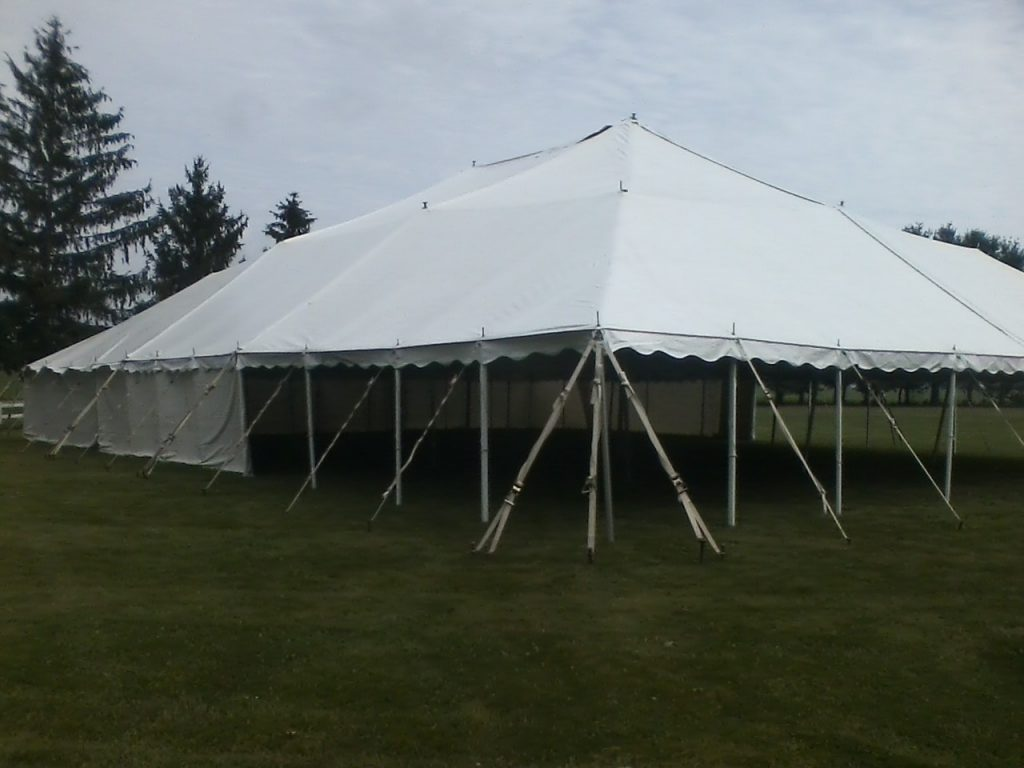 event tent rental rates