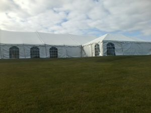 multi-room tent for rent elkhart county area