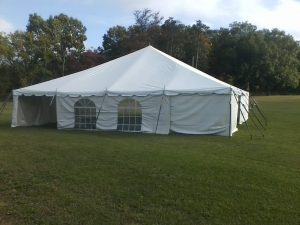 nice tent for rent in northern indiana