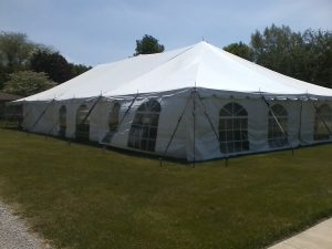 tent rental northern indiana