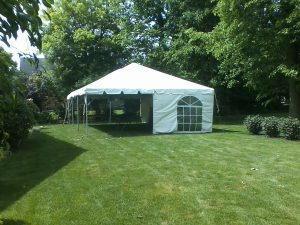 tent rental service elkhart county ind