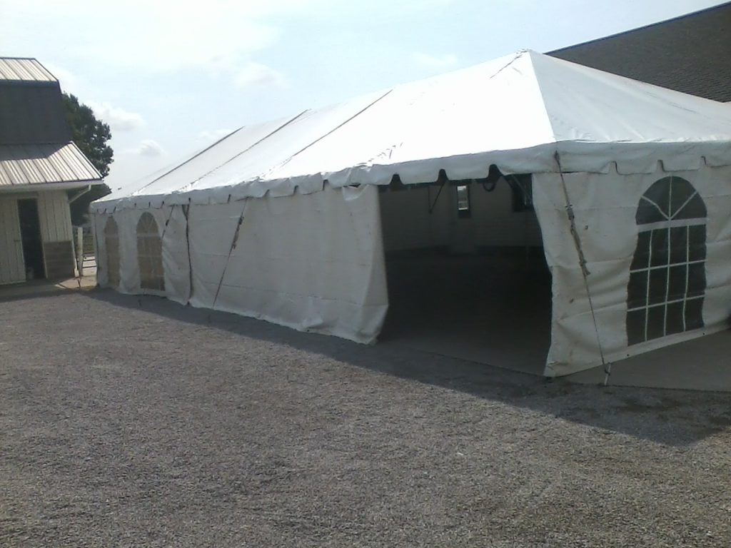 tent rental service in northern indiana