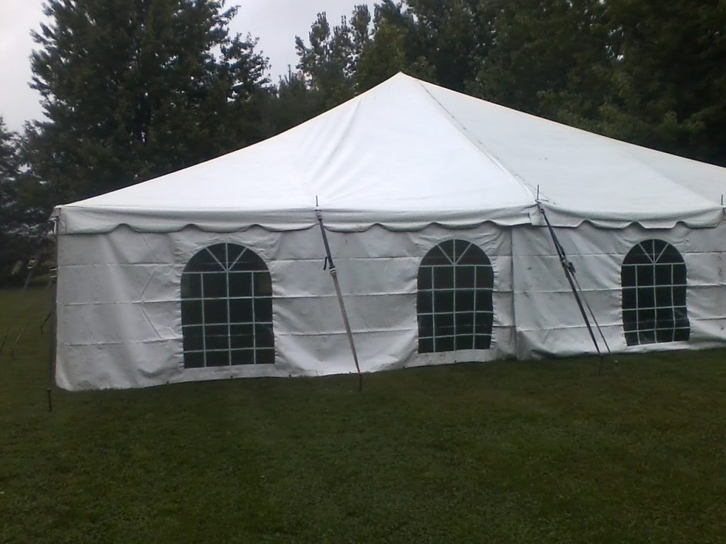 tent with sides for events
