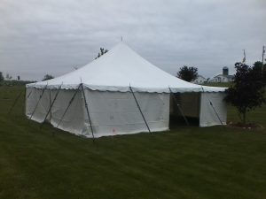 tent with sides for rent