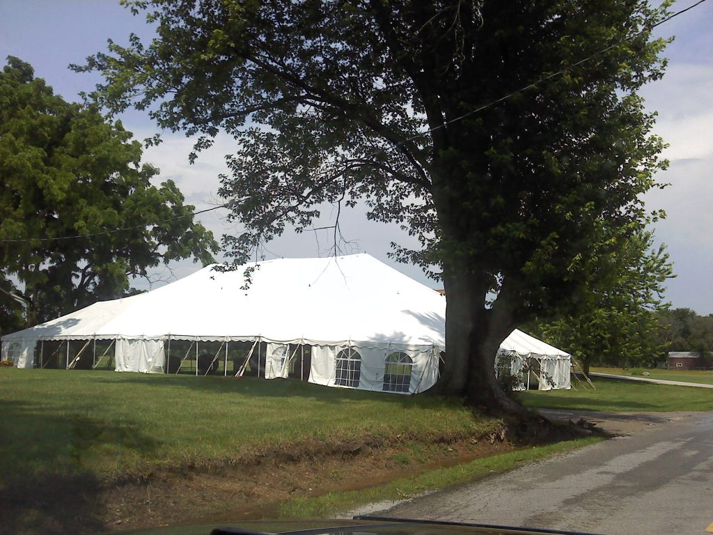 New Paris Party tent rental